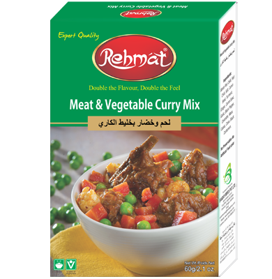 Meat & Veg Curry Mix